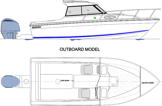 21 outboard drawing